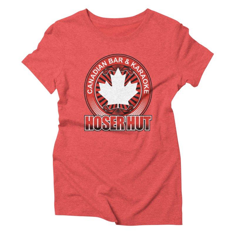 Hoser Hut Women's Triblend T-Shirt by The Final Boss