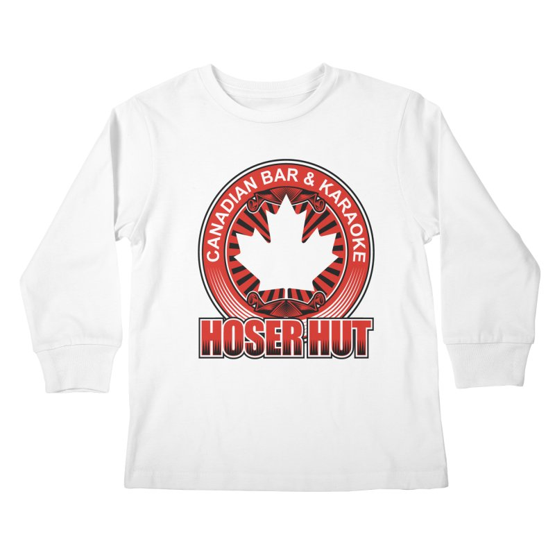 Hoser Hut Kids Longsleeve T-Shirt by The Final Boss