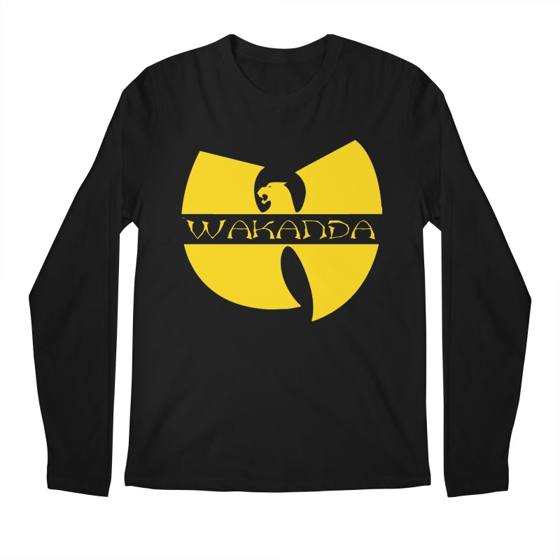 Wakanda Men's Regular Longsleeve T-Shirt by The Final Boss