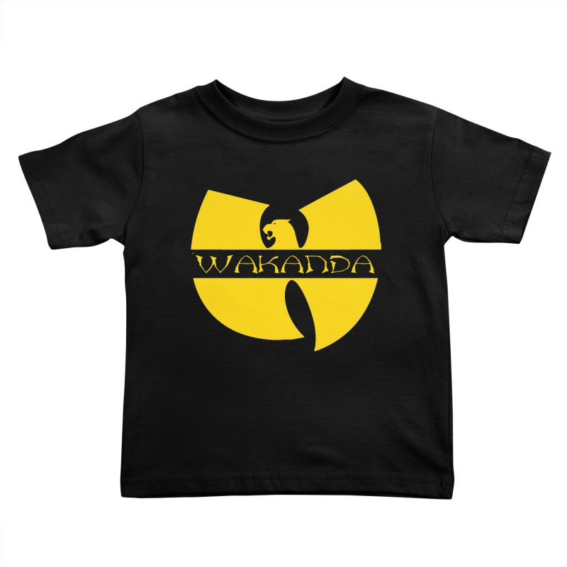 Wakanda Kids Toddler T-Shirt by The Final Boss
