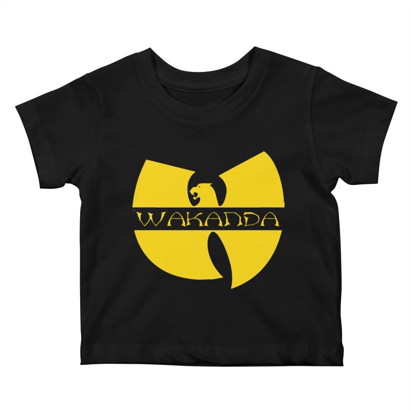 Wakanda Kids Baby T-Shirt by The Final Boss