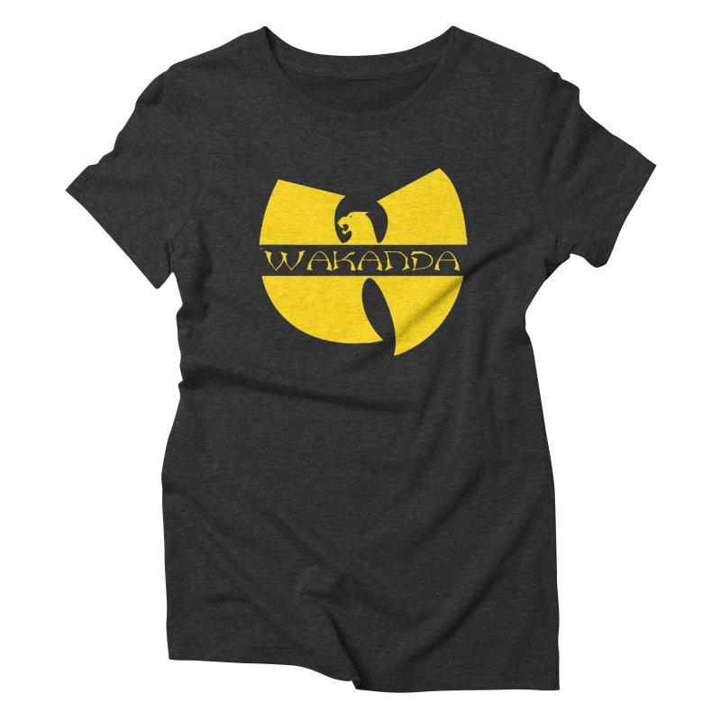 Wakanda Women's T-Shirt by The Final Boss