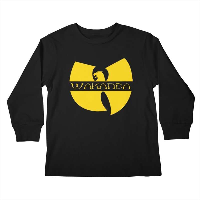 Wakanda Kids Longsleeve T-Shirt by The Final Boss