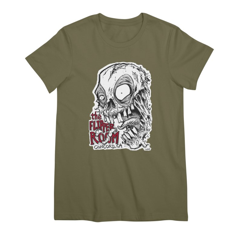 TFR Zombie Women's T-Shirt by The Flipper Room Shop