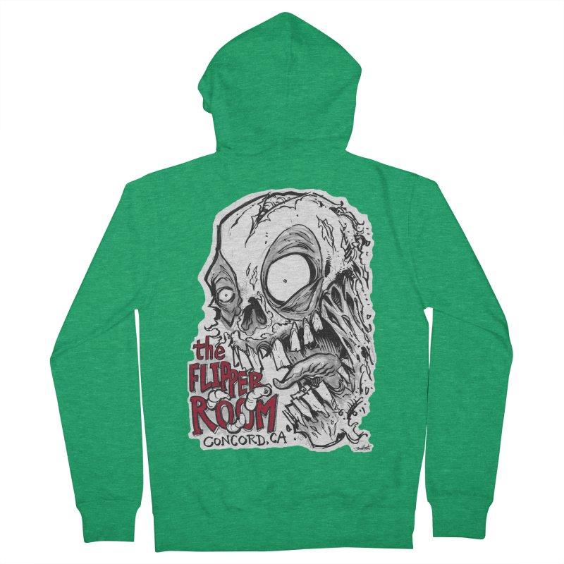 TFR Zombie Men's Zip-Up Hoody by The Flipper Room Shop