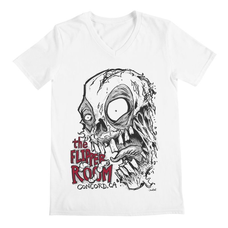 TFR Zombie Men's V-Neck by The Flipper Room Shop
