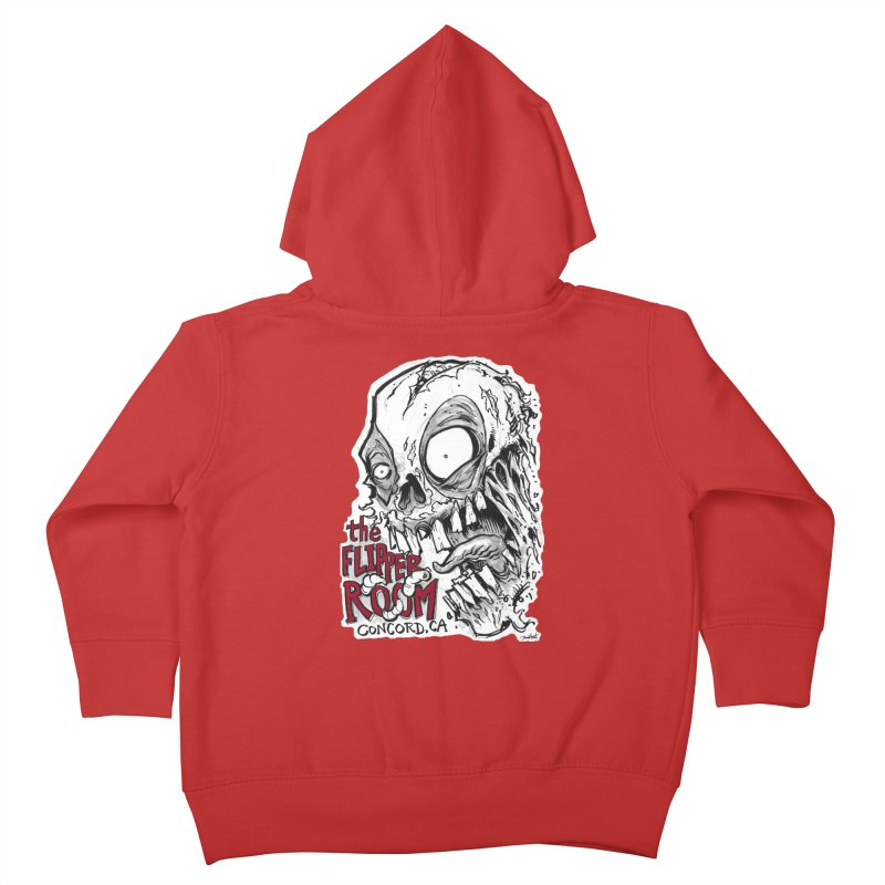 TFR Zombie Kids Toddler Zip-Up Hoody by The Flipper Room Shop