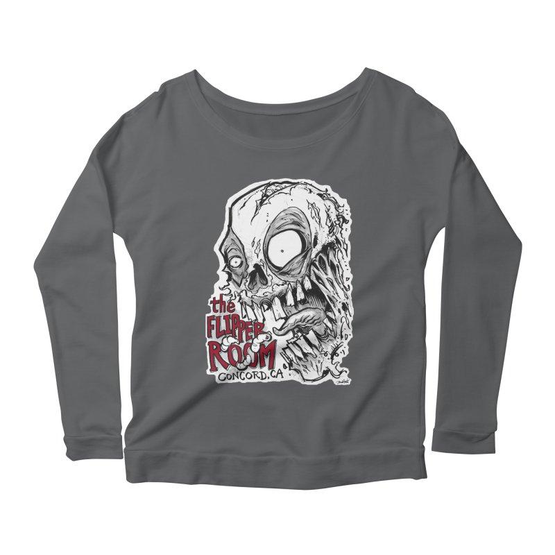 TFR Zombie Women's Longsleeve T-Shirt by The Flipper Room Shop