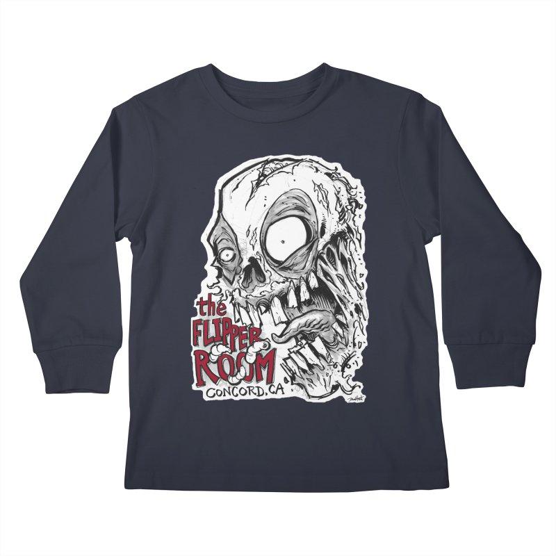 TFR Zombie Kids Longsleeve T-Shirt by The Flipper Room Shop