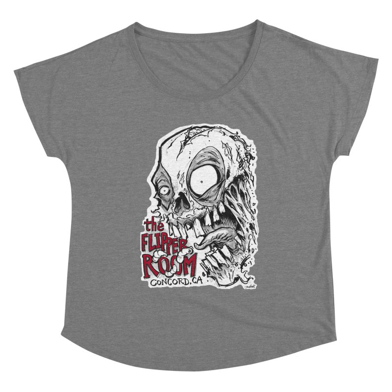 TFR Zombie Women's Scoop Neck by The Flipper Room Shop