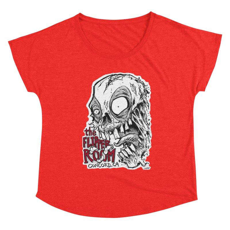 TFR Zombie Women's Scoop Neck by The Flipper Room Shop