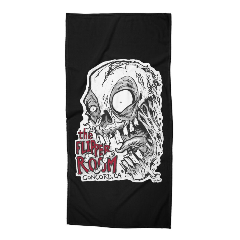 TFR Zombie Accessories Beach Towel by The Flipper Room Shop