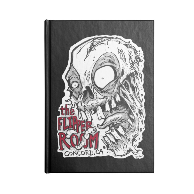 TFR Zombie Accessories Notebook by The Flipper Room Shop