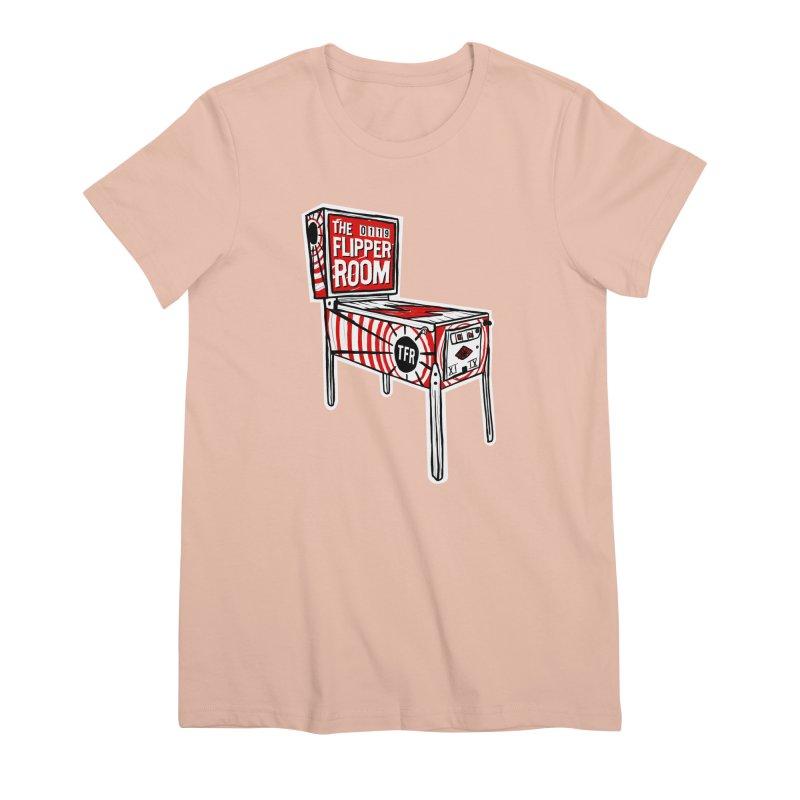 XIIX TFR Pinball Machine Women's T-Shirt by The Flipper Room Shop