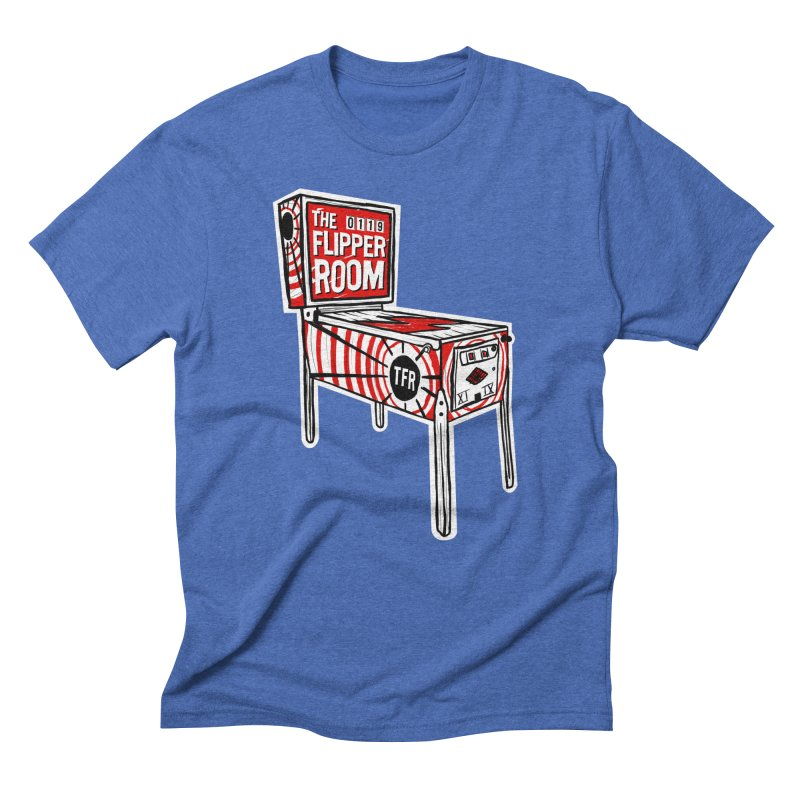 XIIX TFR Pinball Machine Men's T-Shirt by The Flipper Room Shop