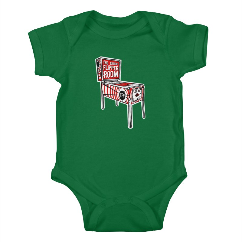 XIIX TFR Pinball Machine Kids Baby Bodysuit by The Flipper Room Shop