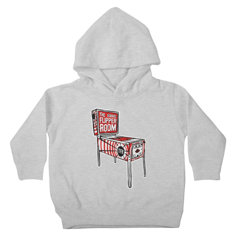 XIIX TFR Pinball Machine Kids Toddler Pullover Hoody by The Flipper Room Shop
