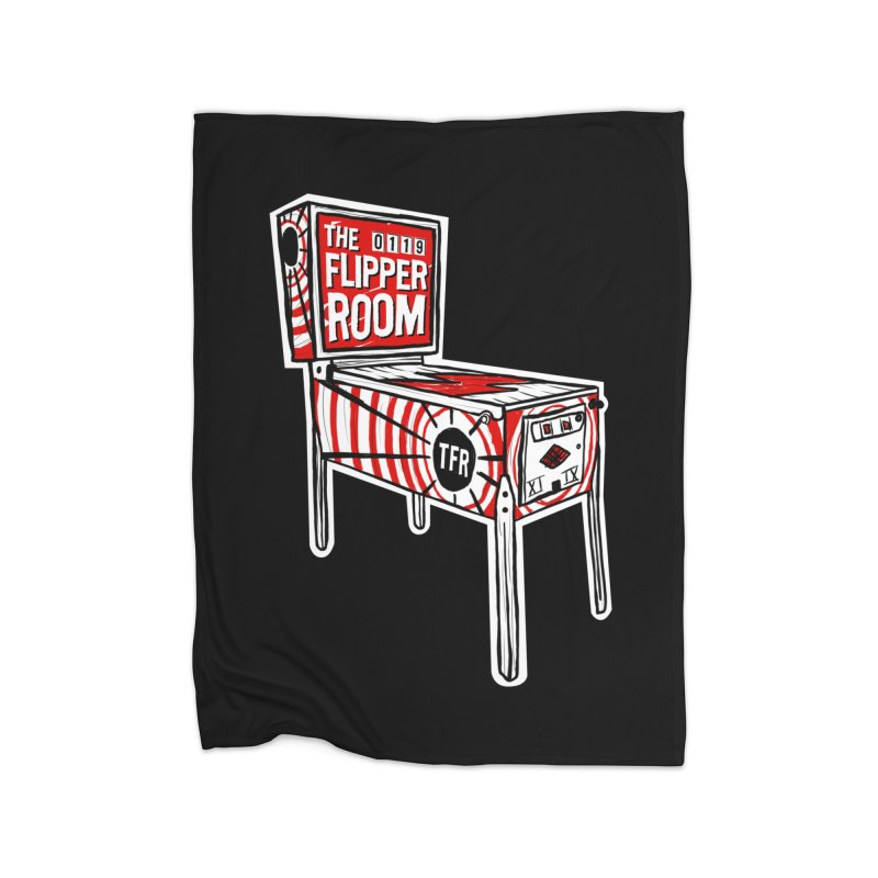 XIIX TFR Pinball Machine Home Blanket by The Flipper Room Shop