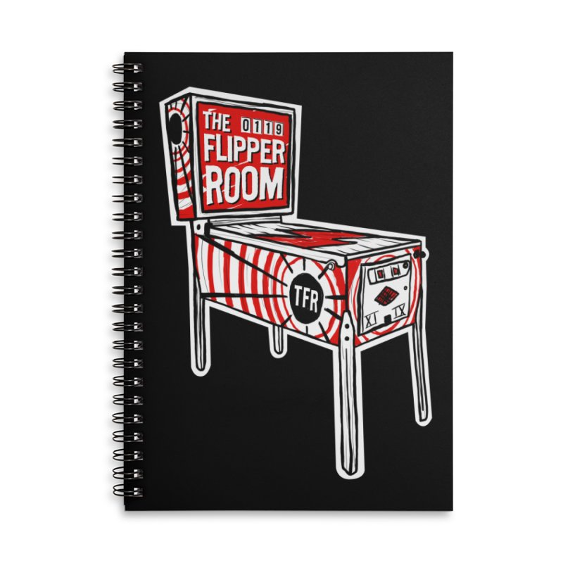 XIIX TFR Pinball Machine Accessories Notebook by The Flipper Room Shop