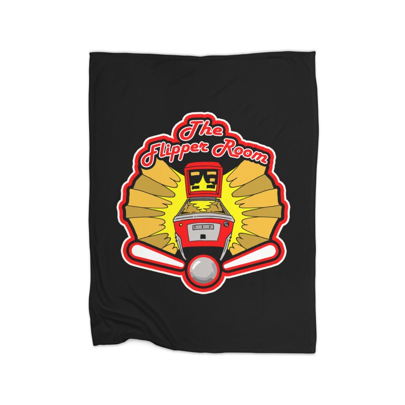 Classic Logo Home Blanket by The Flipper Room Shop