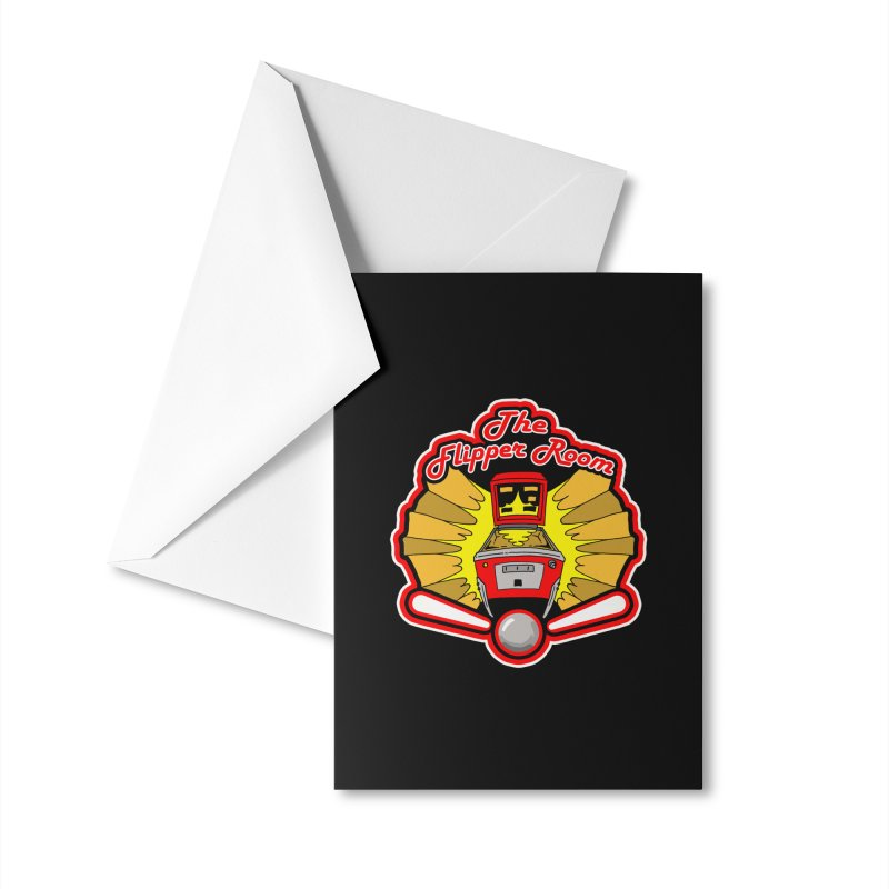 Classic Logo Accessories Greeting Card by The Flipper Room Shop