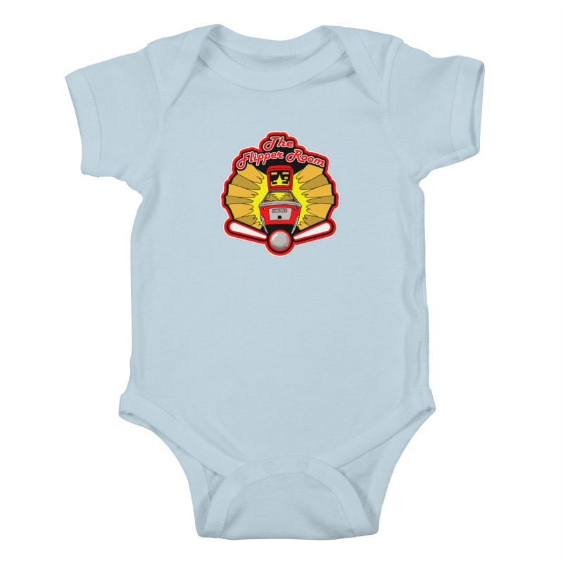 Classic Logo Kids Baby Bodysuit by The Flipper Room Shop
