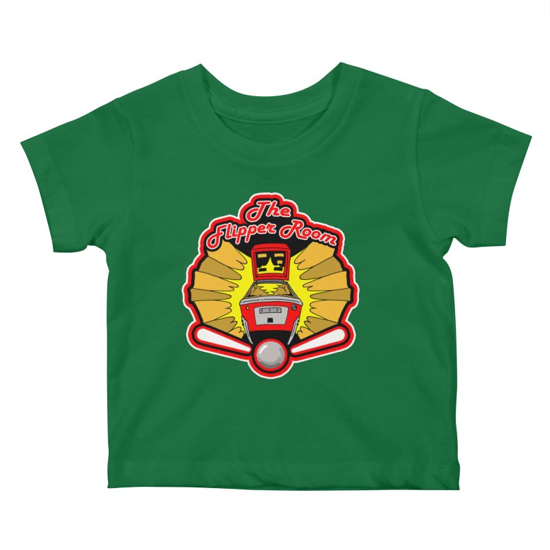 Classic Logo Kids Baby T-Shirt by The Flipper Room Shop