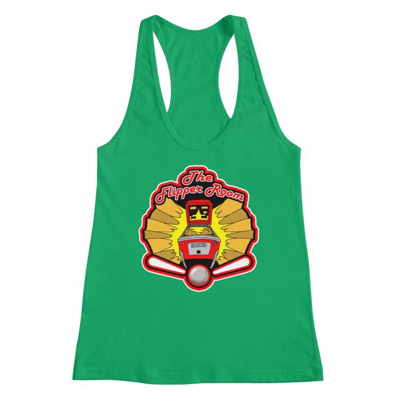 Classic Logo Women's Tank by The Flipper Room Shop