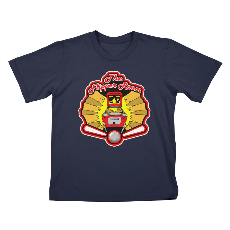 Classic Logo Kids T-Shirt by The Flipper Room Shop