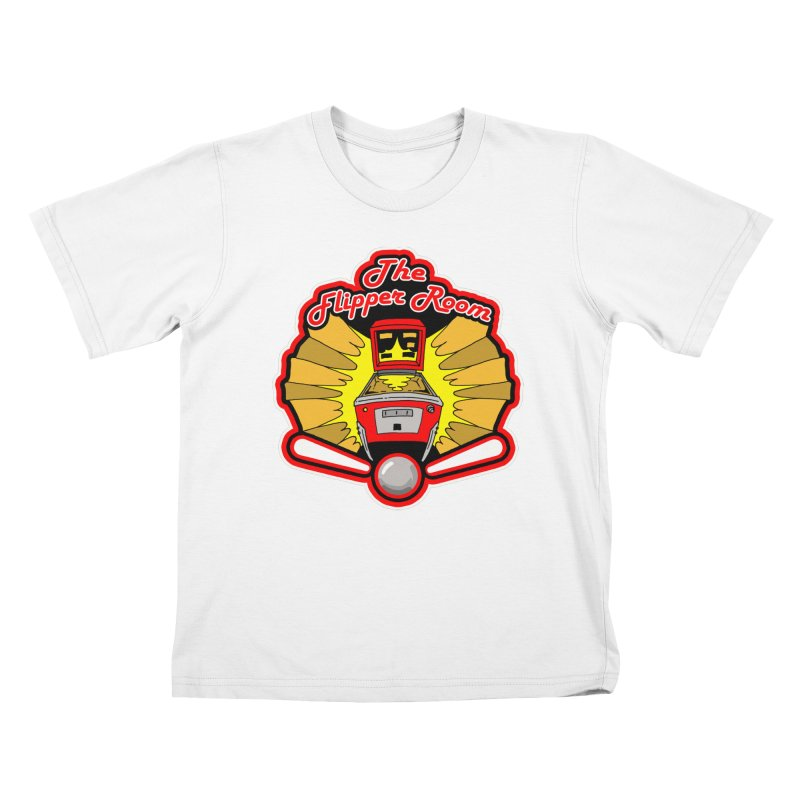 Classic Logo Kids T-Shirt by The Flipper Room Shop