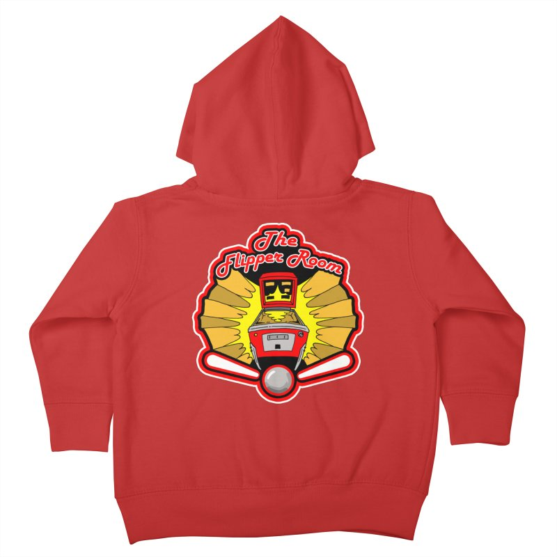 Classic Logo Kids Toddler Zip-Up Hoody by The Flipper Room Shop