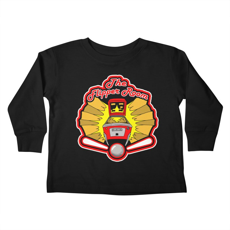 Classic Logo Kids Toddler Longsleeve T-Shirt by The Flipper Room Shop
