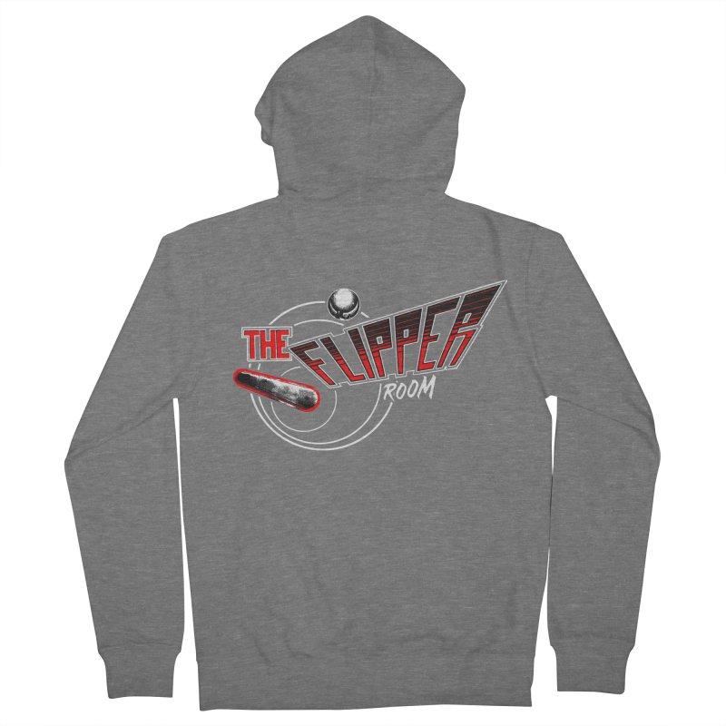 Retro TFR Men's Zip-Up Hoody by The Flipper Room Shop