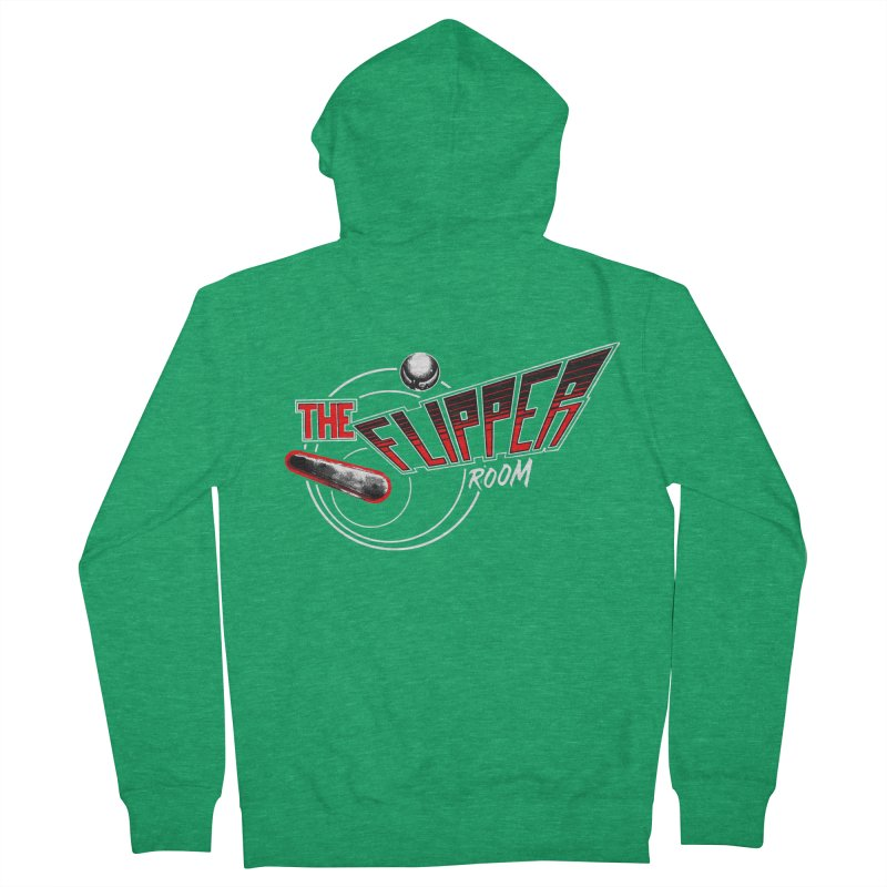 Retro TFR Men's Zip-Up Hoody by The Flipper Room Shop