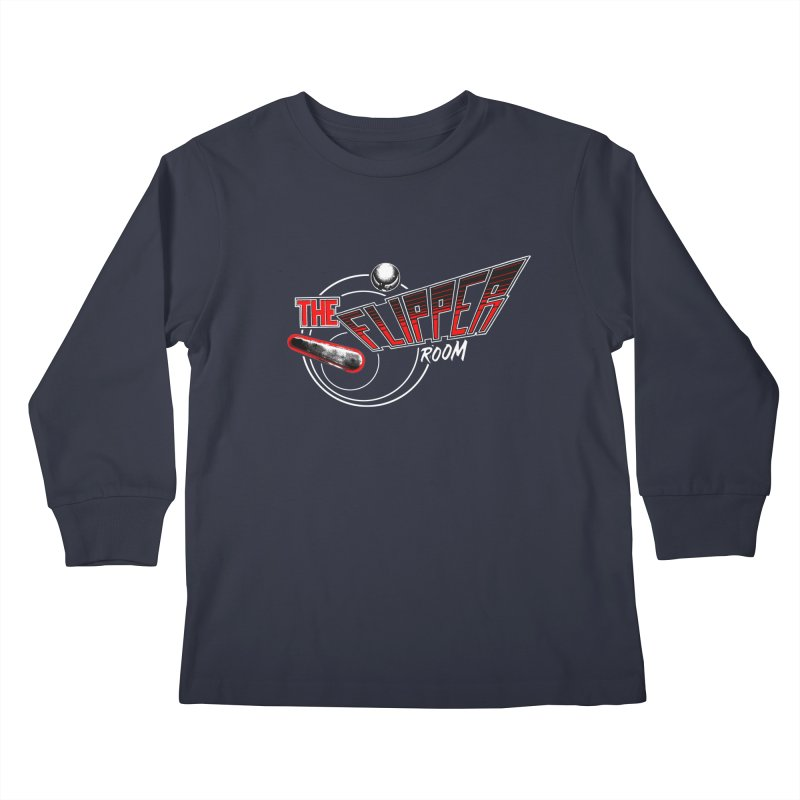 Retro TFR Kids Longsleeve T-Shirt by The Flipper Room Shop