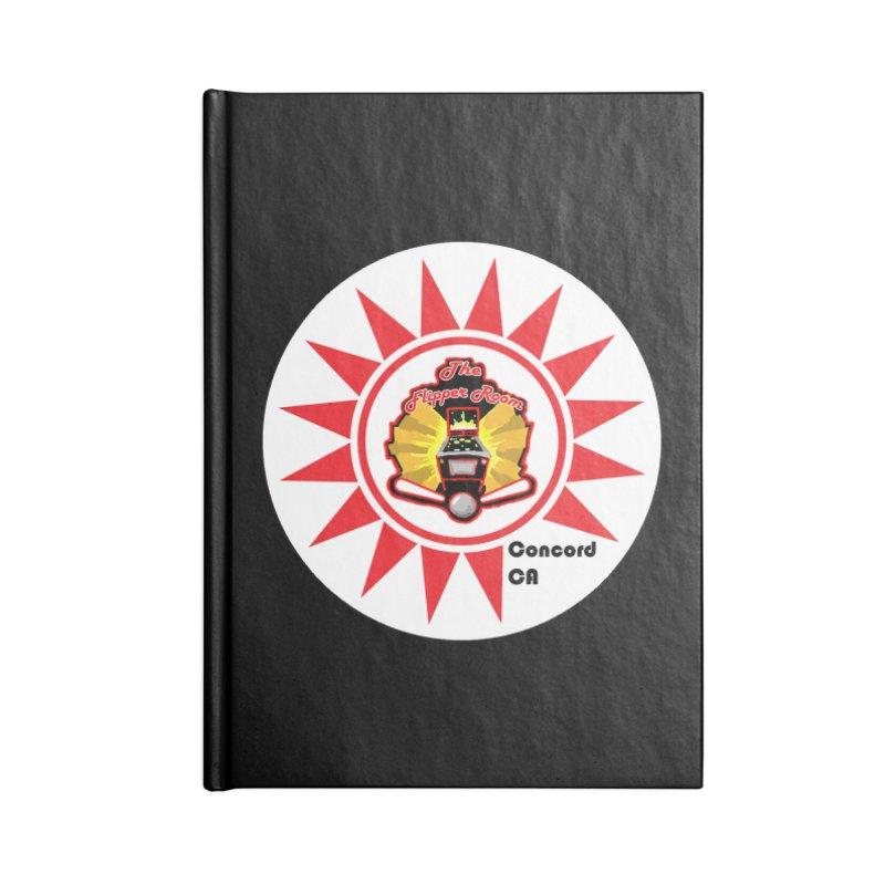 Pop Bumper Cap Accessories Notebook by The Flipper Room Shop