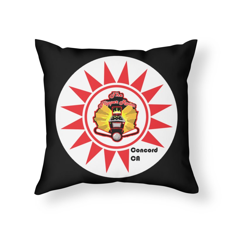 Pop Bumper Cap Home Throw Pillow by The Flipper Room Shop