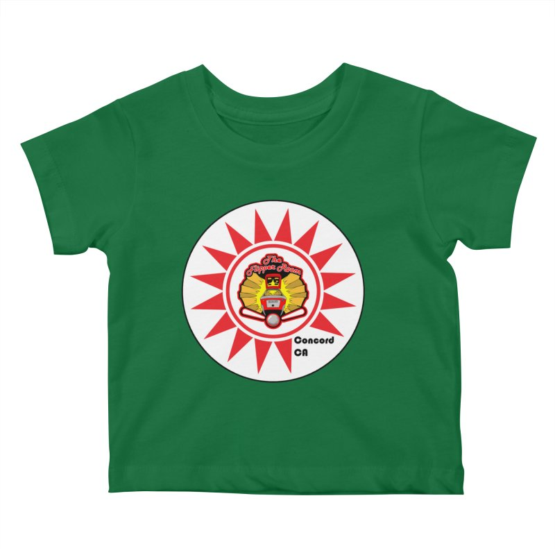 Pop Bumper Cap Kids Baby T-Shirt by The Flipper Room Shop