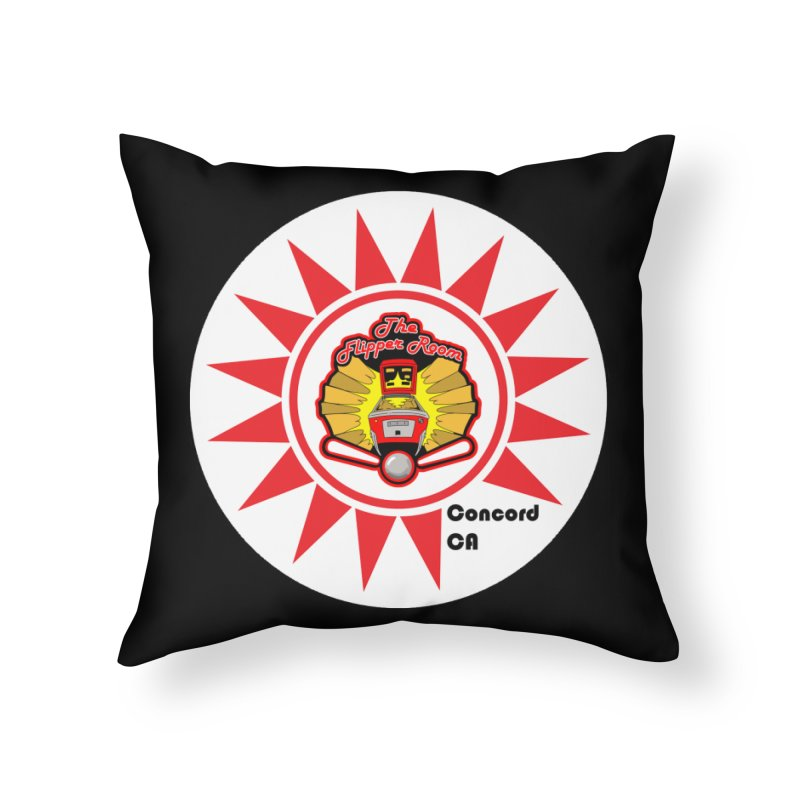 Pop Bumper Cap Home Throw Pillow by The Flipper Room Shop