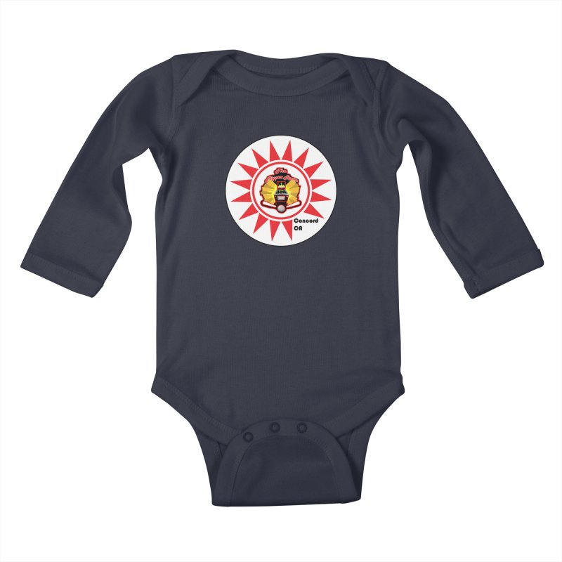 Pop Bumper Cap Kids Baby Longsleeve Bodysuit by The Flipper Room Shop