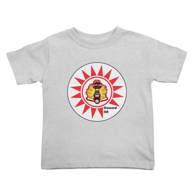 Pop Bumper Cap Kids Toddler T-Shirt by The Flipper Room Shop