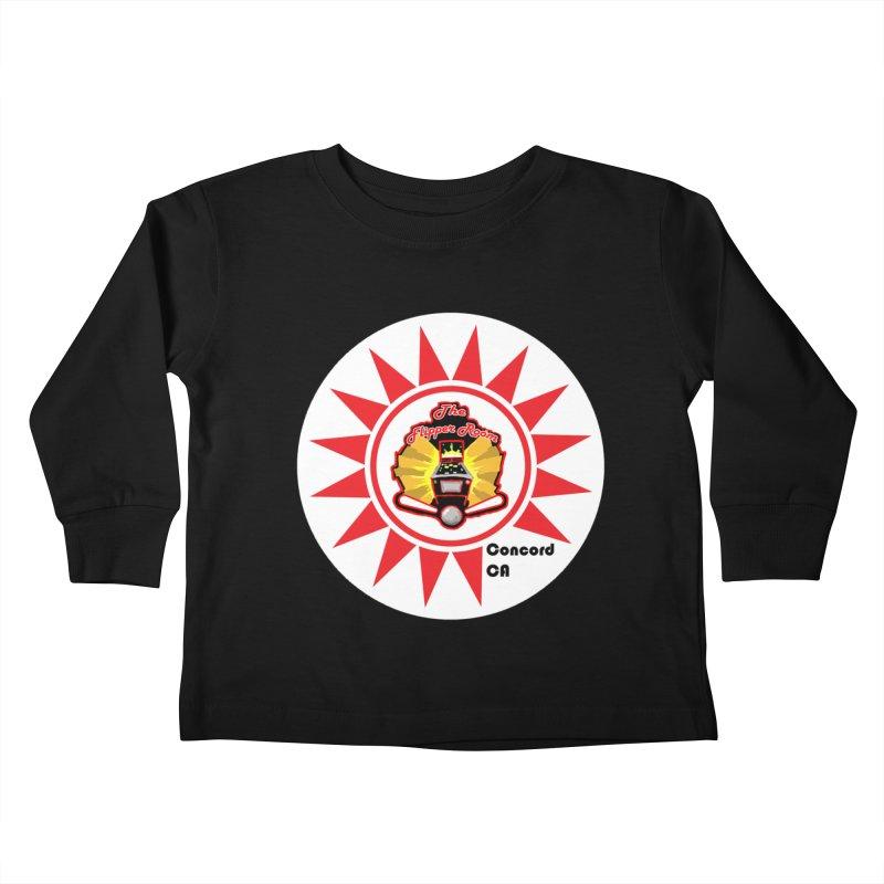Pop Bumper Cap Kids Toddler Longsleeve T-Shirt by The Flipper Room Shop