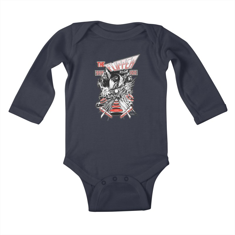 TFR Electrograde Kids Baby Longsleeve Bodysuit by The Flipper Room Shop