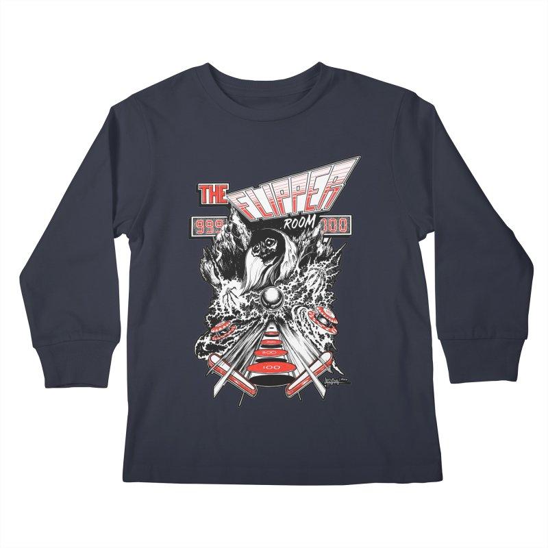 TFR Electrograde Kids Longsleeve T-Shirt by The Flipper Room Shop