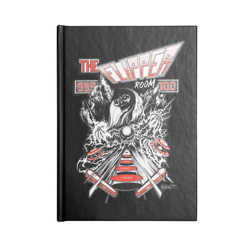 TFR Electrograde SWAG Notebook by The Flipper Room Shop