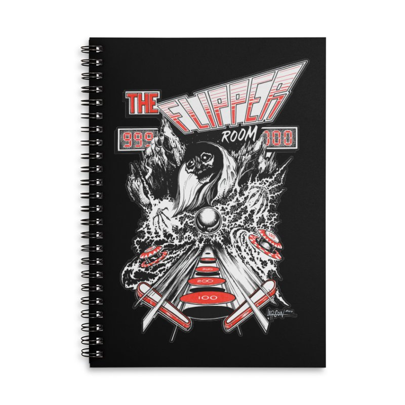 TFR Electrograde Accessories Notebook by The Flipper Room Shop