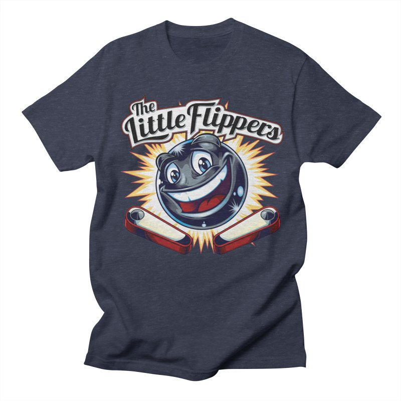 The Little Flippers Men's T-Shirt by The Flipper Room Shop