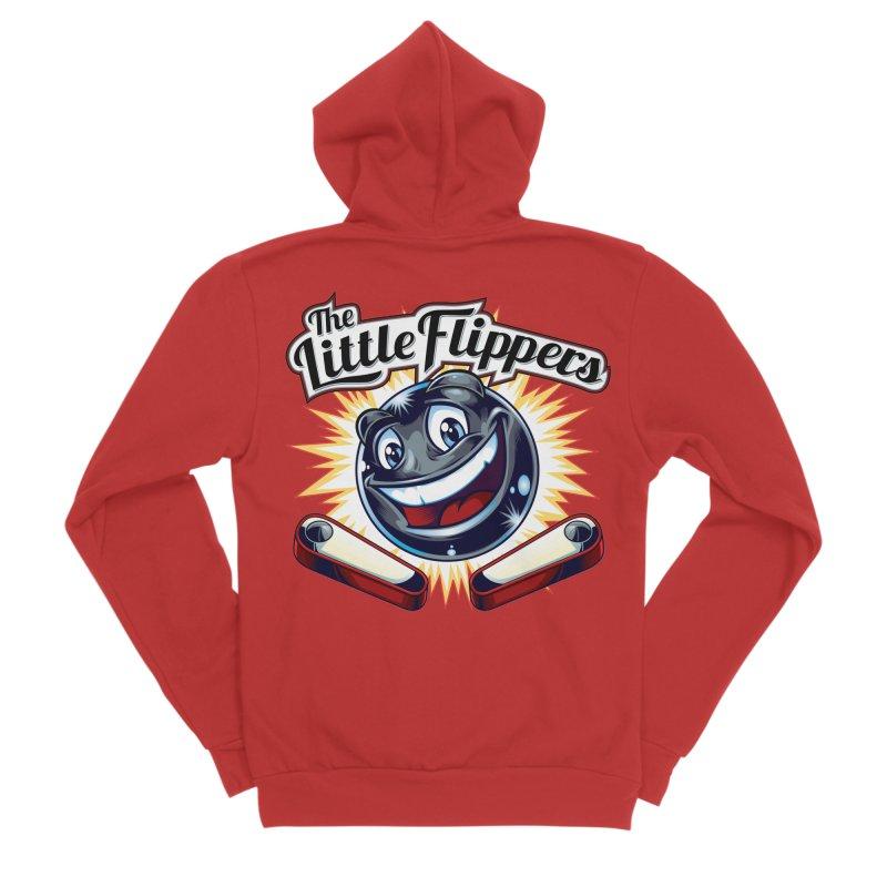 The Little Flippers Men's Zip-Up Hoody by The Flipper Room Shop