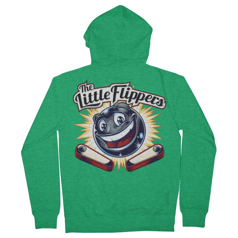 The Little Flippers Men's Zip-Up Hoody by The Flipper Room Shop