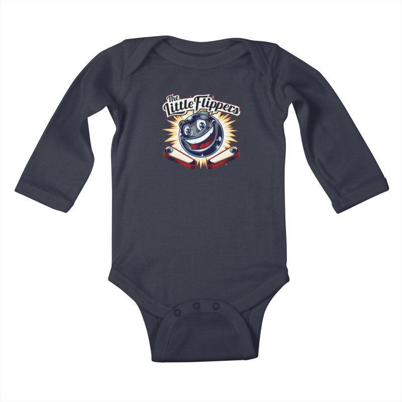 The Little Flippers Kids Baby Longsleeve Bodysuit by The Flipper Room Shop